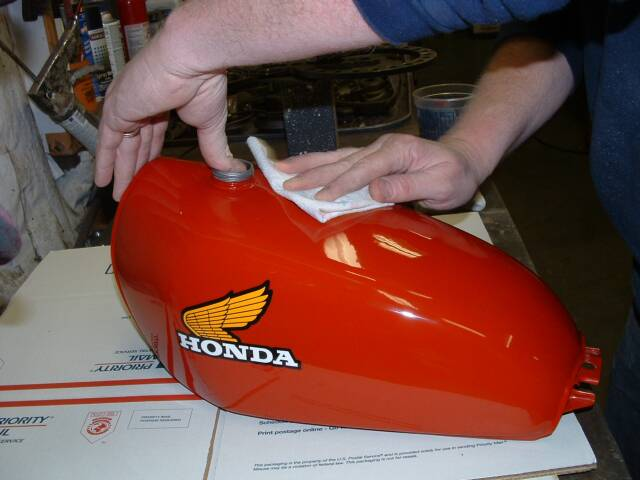 Randys Cycle Service & Restoration: Painting